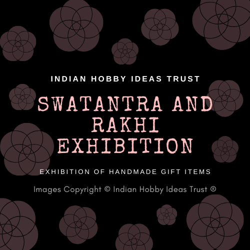 Handmade Gift Items Display at Swatantra and Rakhi Exhibition, organized by Meraki Allure